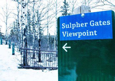 Grande Cache Sulfur Gates