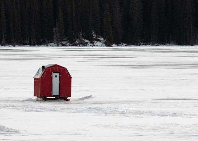 Grande Cache Lakes - Ice Fishing