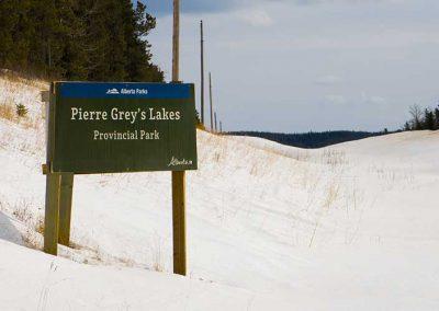 Pierre Grey Lakes, Alberta