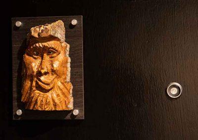 Grande Cache Hotel Sculptures
